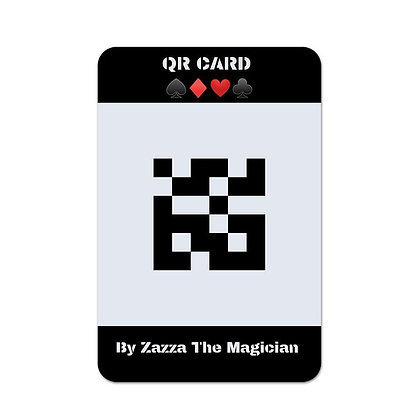 QR Card by Zazza