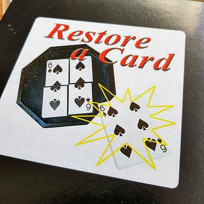 La Carte Restaurée