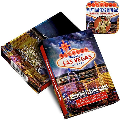 What Happens In Vegas by Liam Montier and Alakazam Magic