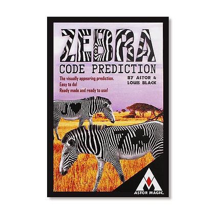 Zebra Code Prediction by Astor