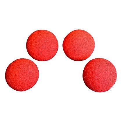 """Balles en mousse """"Super Soft""""- 50mm (Rouge) - Magic by Gosh"""