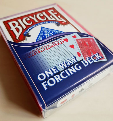 Bicycle - One way forcing deck - Dos Rouge