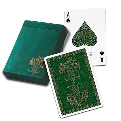 Green Philtre Playing Cards