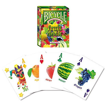 Jeu de cartes Bicycle - Fruit