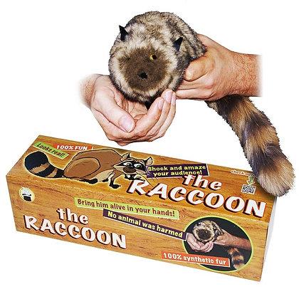 The Raccoon - 100% Synthetic Fur