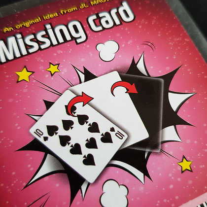 Missing Card by JL
