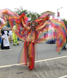 Sister Erotica's Pride luft