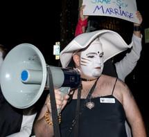 Prop 8 protest - Silverlake