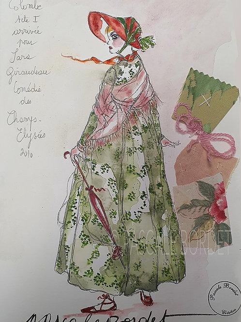 SARA GIRAUDEAU - 1 - Colombe
