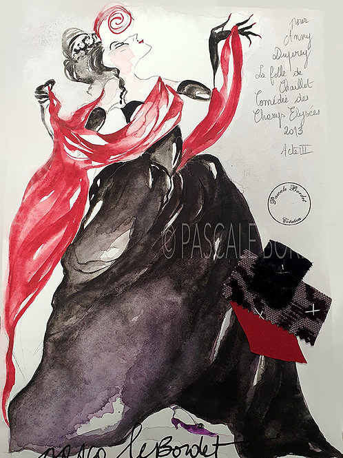 ANNY DUPEREY -3 La Folle de Chaillot