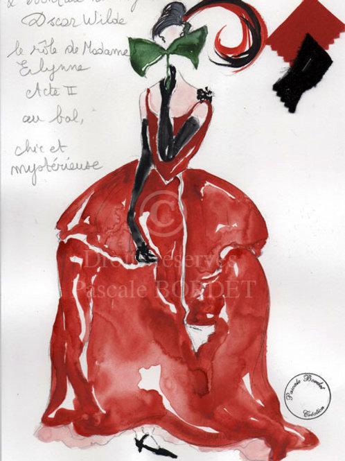 Madame Erlynne - L'éventail de Lady Windermere - Pour Alessandra Martinez