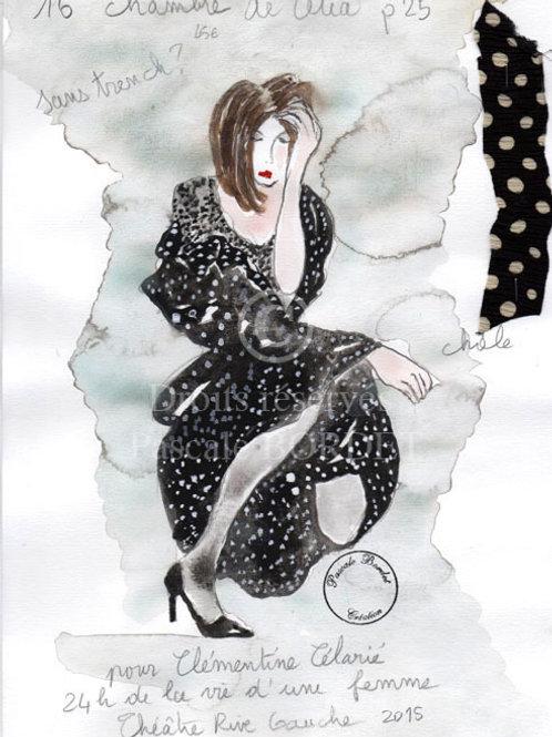 24h de la vie d'une femme - Pour Clémentine Célarié