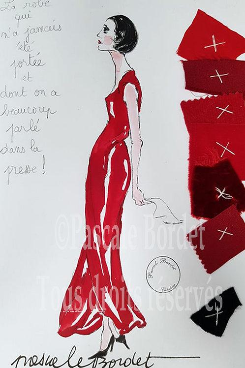 La robe jamais portée- Pour Marie-Claude Pietragalla