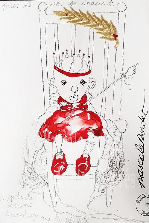 Le roi se meurt - Pour Michel Bouquet - Version 2
