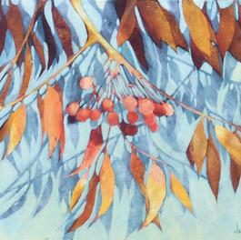 Cherries in the Mist - SOLD