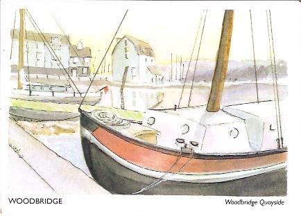 Woodbridge postcard