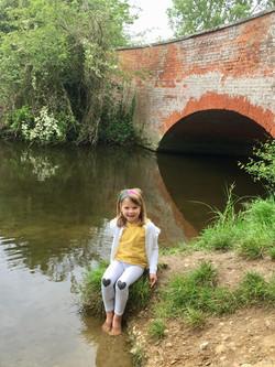 Heidi at Ufford Hole