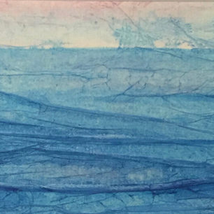 Seascape in Blue - SOLD