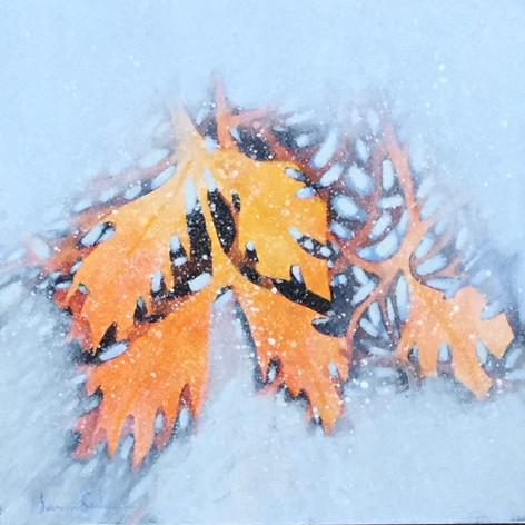 Snowy Treasures - SOLD