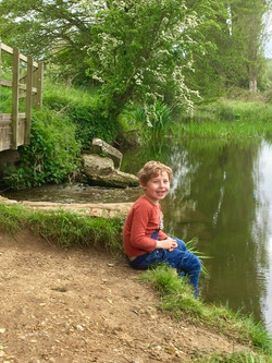Oscar at Ufford Hole