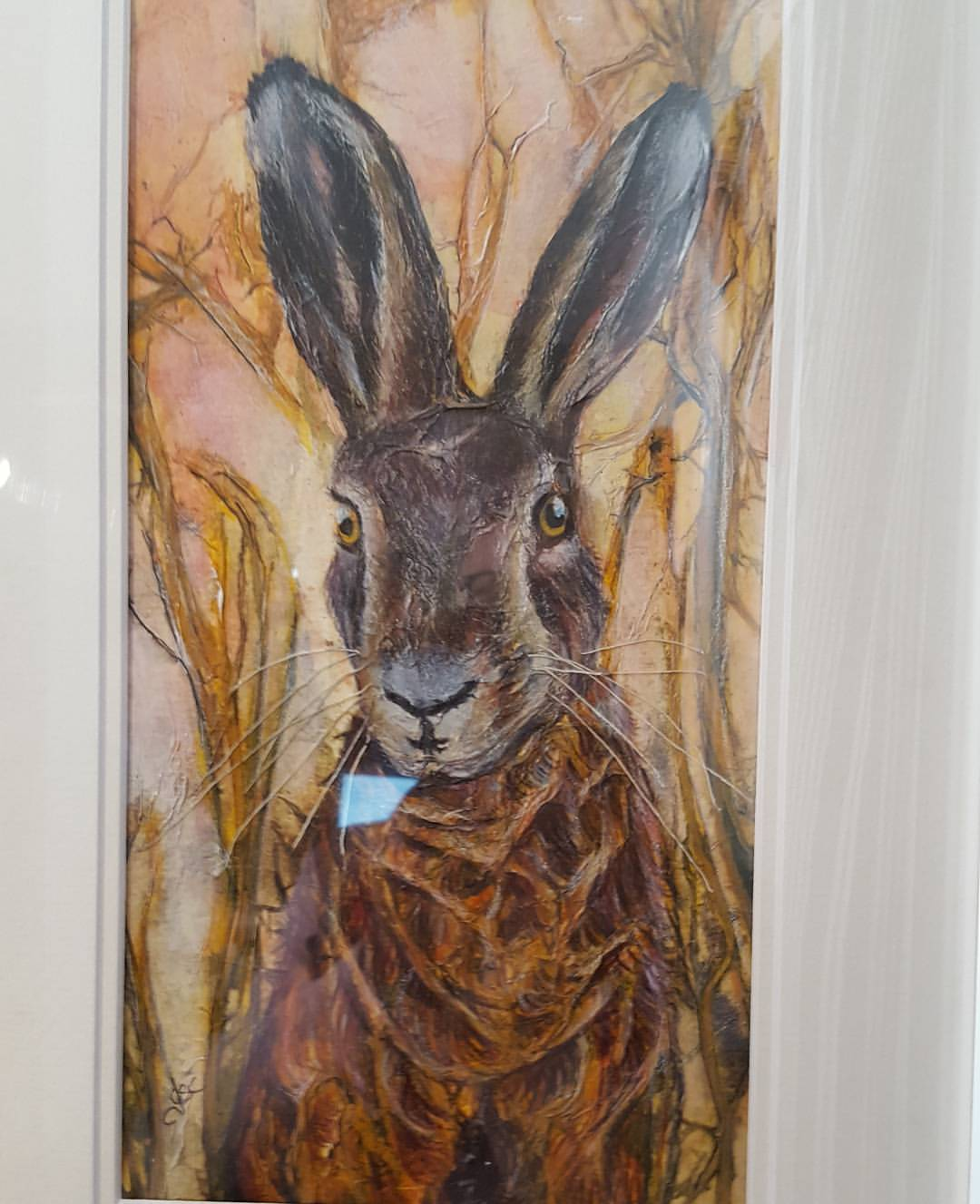 A Hare's Breadth Away - SOLD