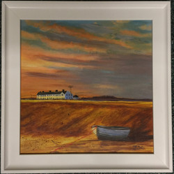 Shingle Street Sunset - SOLD