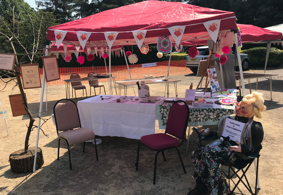 Our Stall at the Ufford Garden Show