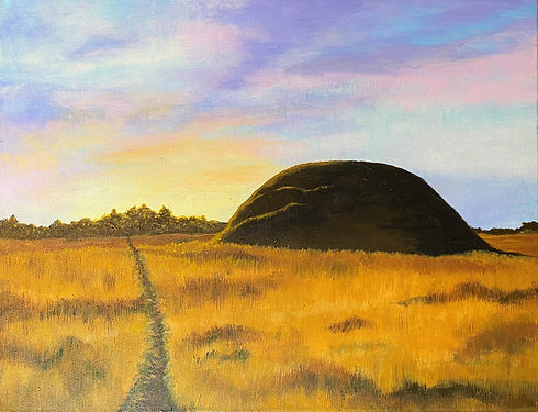Sutton Hoo Painting