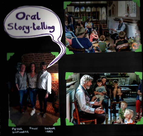 Oral Story Telling for Children Big and Small