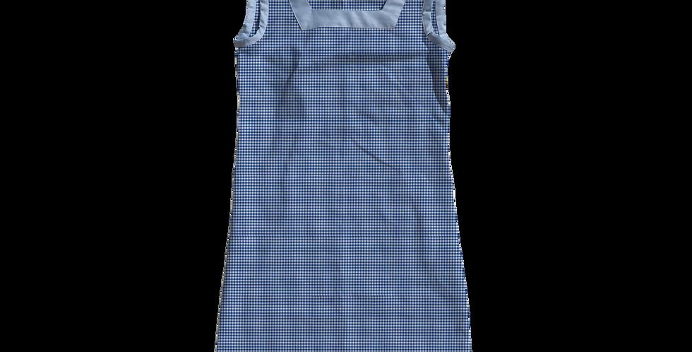 The Shift Dress - Royal Gingham