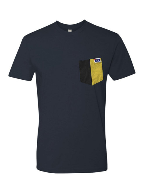 Navy Crew Neck Short Sleeve T-Shirt