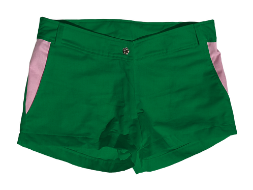 The Boat Short Solid Cotton Clover
