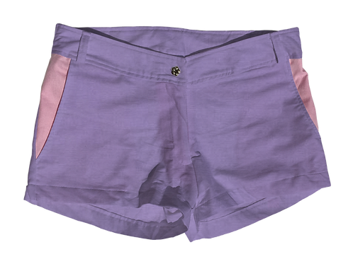 The Boat Short Solid Cotton Thistle