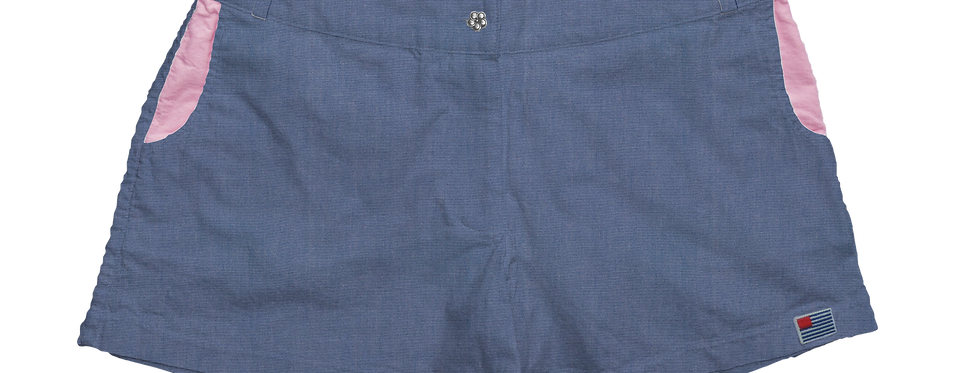 Solid Blue Chambray