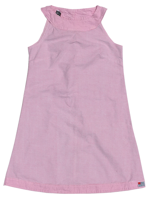A-Line Shift Dress - Petal Oxford