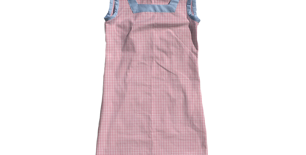 The Shift Dress - Candy Gingham
