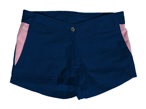 The Boat Short Solid Cotton Storm