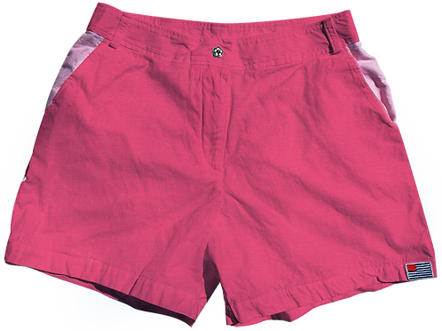 The Lake Short Solid Cotton Honeysuckle