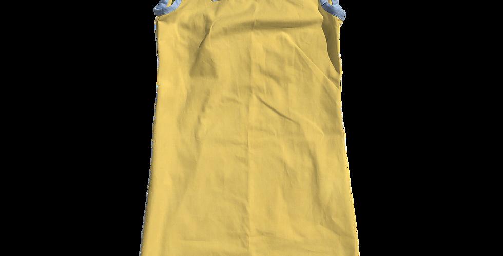 The Shift Dress - Cotton Lemon