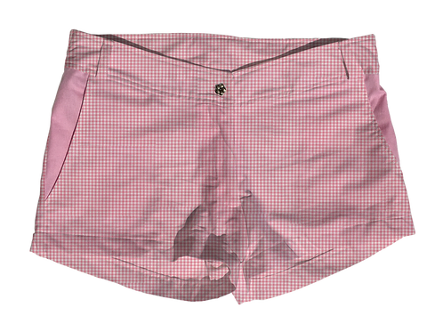 The Boat Short Small Candy Gingham