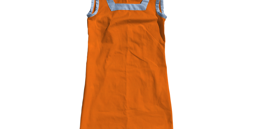 The Shift Dress - Cotton Kumquat