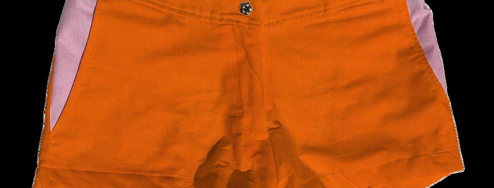 The Boat Short Solid Cotton Kumquat