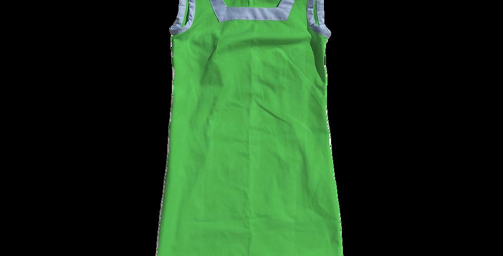 The Shift Dress - Cotton Kiwi