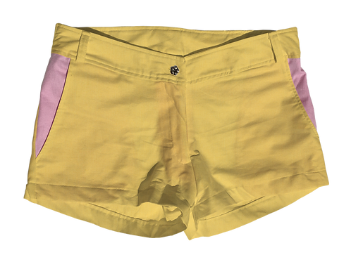 The Boat Short Solid Cotton Lemon