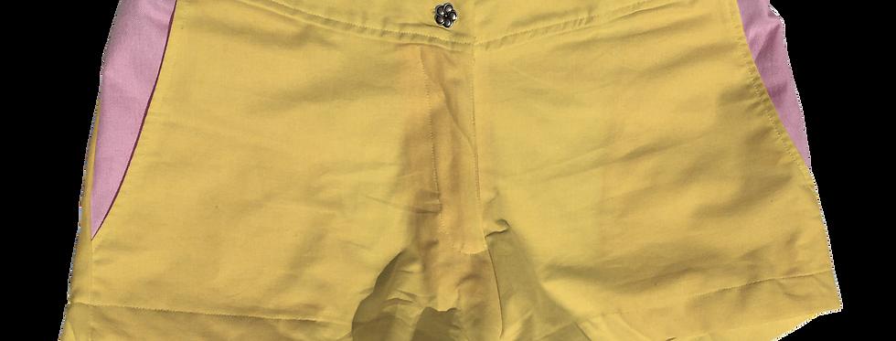 The Boat Short Solid Cotton Lemon