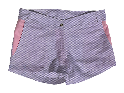 The Boat Short Oxford Solid Lilac