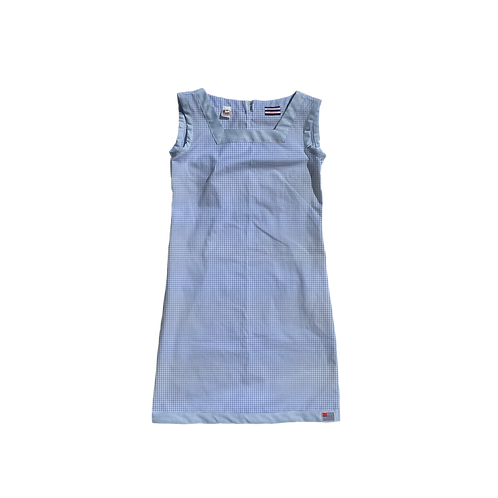 The Shift Dress - Periwinkle Gingham