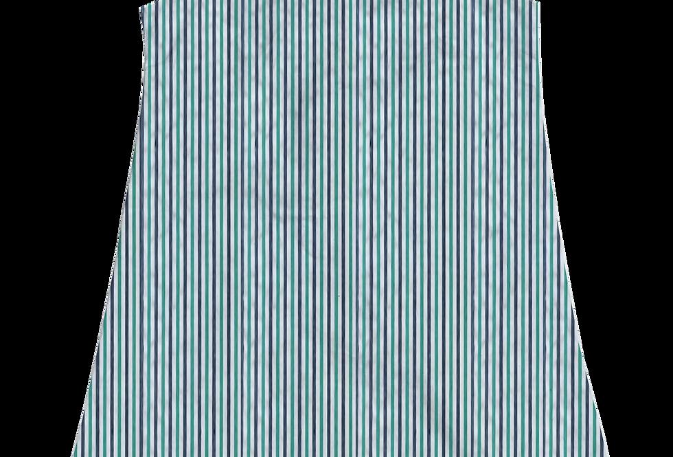 A-Line Shift Dress- Bermuda Seersucker