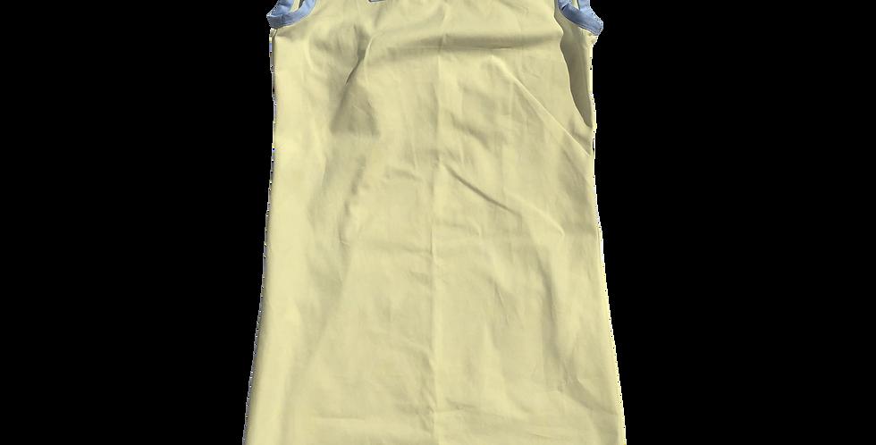 The Shift Dress - Yellow Oxford