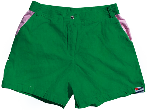 The Lake Short Solid Cotton Clover